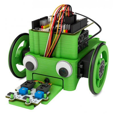 Educational Robot Kit Renacuajo + electronics