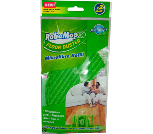 Pack 2x pa�os lavables RoboMop Floor Duster