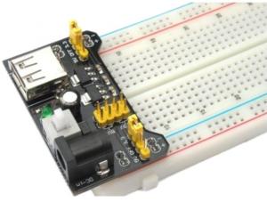 Fuente de voltaje para MB102 protoboard USB