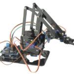 Brazo robot programable 4 DOF con mando dual joystick